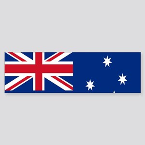 Australia flag Sticker (Bumper)